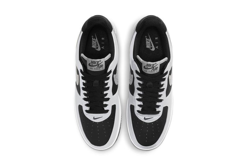 nike sportswear air force 1 low b 3m snake black silver white dj6033 001 official release date info photos price store list buying guide