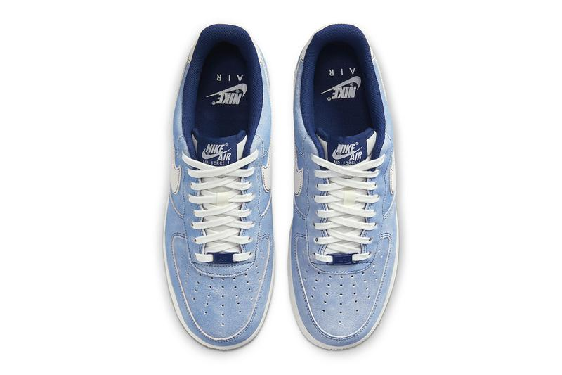 nike air force 1 low blue suede red suede dh0265 400 dh0265 600 release menswear streetwear kicks trainers runners footwear spring summer 2021 ss21 collection