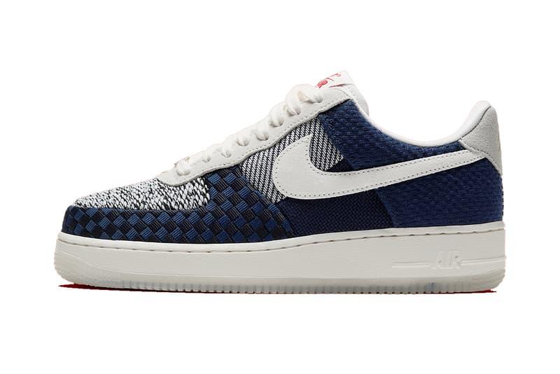 nike air force one sashiko release footwear sneakers shoes