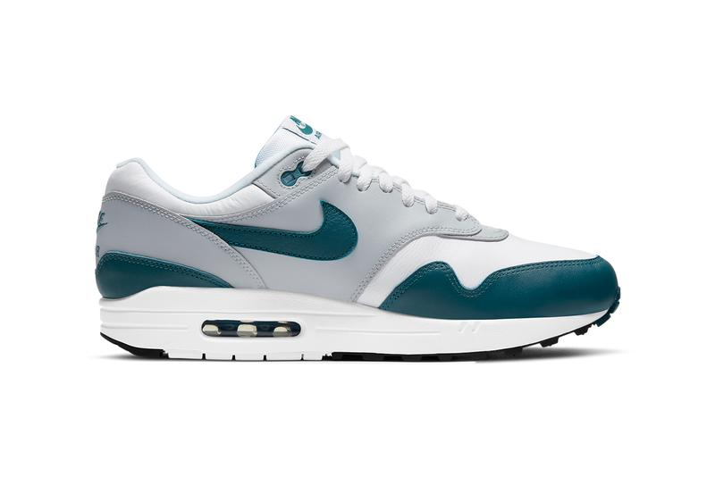 nike sportswear air max 1 dark teal green obsidian white wolf grey black DH4059 100 101 official release date info photos price store list buying guide