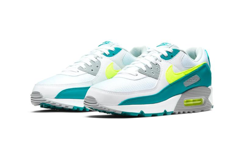 Nike Air Max 3 Hot Lime CZ2908 100 release menswear streetwear shoes sneakers kicks runners trainers footwear fall winter 2021 collection fw2021