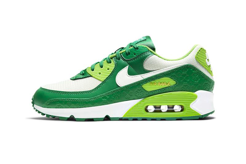 nike air max 90 air force 1 st patricks day pack dd8555 300 dd8458 300 menswear streetwear kicks shoes runners trainers sneakers 2021 spring summer 2021 collection ss21