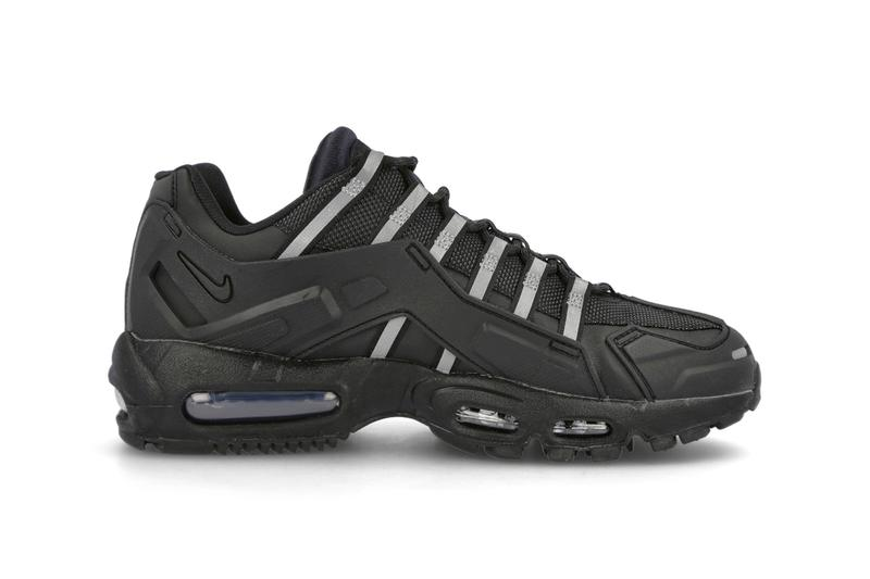 Nike Air Max 95 NDSTRKT Black CZ3591 001 Sneaker Release Information Sergio Lozano 1995 AM95 Technical Shoe Trainer Footwear Mesh Water Resistant