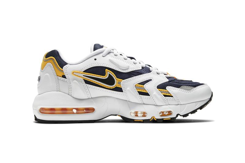 nike sportswear air max 96 ii 2 goldenrod white navy blue CZ1921 100 official release date info photos price store list buying guide