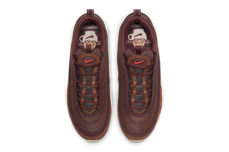 Nike Air Max 97 Coffee dd5395 244 sneakers footwear shoes kicks menswear streetwear spring summer 2021 ss21 collection info