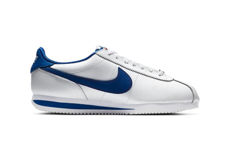nike sportswear cortez la los angeles white red blue DA4402 100 official release date info photos price store list buying guide