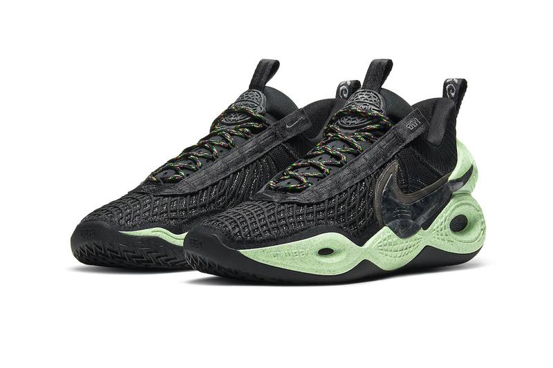 Nike Cosmic Unity First Look Release Info DA6725-001 Buy Price Natural Total Orange Green Glow