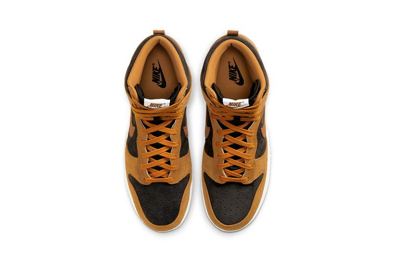 nike dunk high dark curry DD1401 200 release date info store list photos price buying guide
