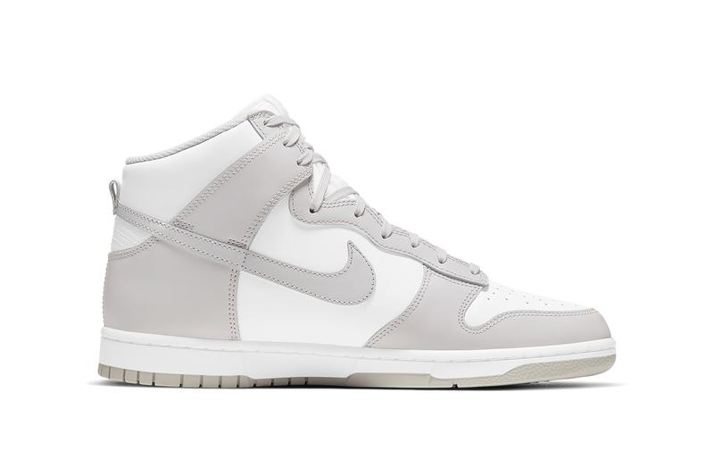 nike dunk high vast grey white DD1399 100 release date photos info store list buying guide