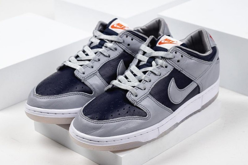"Nike Dunk Low to Release in ""College Navy"""