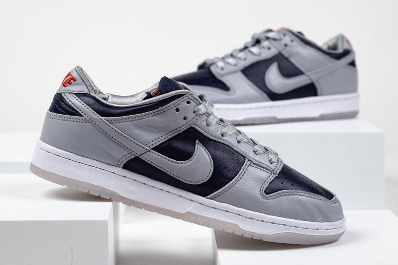 nike sportswear dunk low college navy wolf grey university red white dd1768 400 official release date info photos price store list buying guide