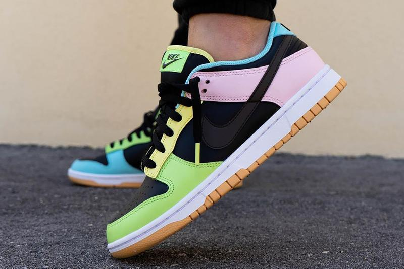 nike dunk low free 99 black DH0952 001 release info date buying guide store list dark chocolate copa pink foam