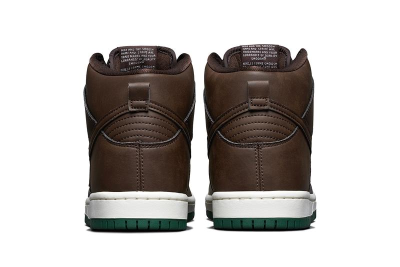 nike sb dunk high baroque brown CV1624 200 release date info store list price buying guide vegan leather