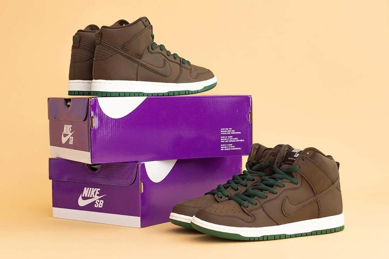 nike sb dunk high baroque brown vegan leather release info store list buying guide