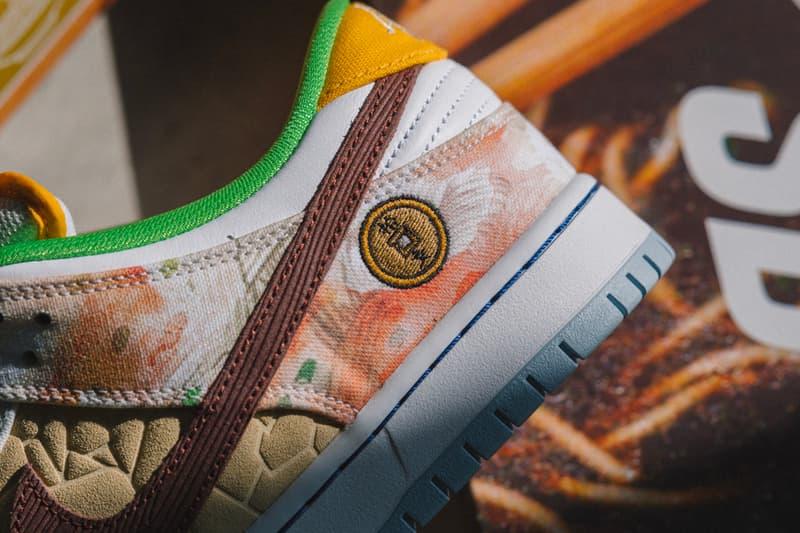 Nike SB Dunk Low Street Hawker Closer Look Release Info CV1628-800 Jason Deng Buy Price date Metallic Copper Light Silver Pueblo Brown