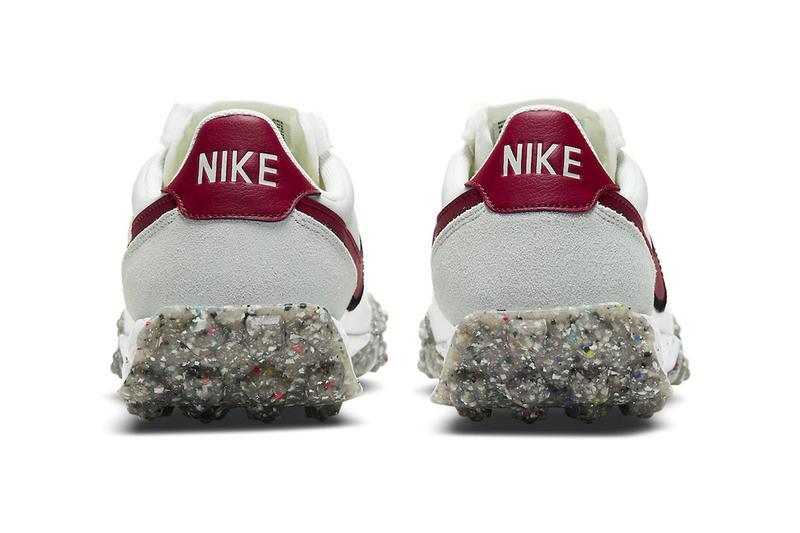 Nike Waffle Racer Crater Smoke Grey Gym Red Release Info ct1983-103 Buy Price Date White Grind rubber