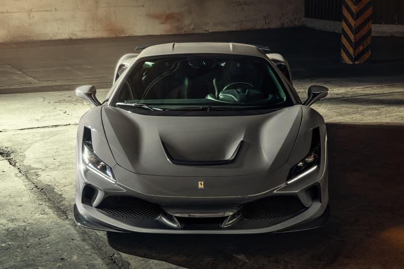 NOVITEC Ferrari F8 Tributo 3.9 Liter V8 Twin Turbo Engine 802 HP 898 Nm Torque Power Performance Italian Supercar Hyper Car Cars Driving Naked Carbon Fiber Wheels Aerodynamics