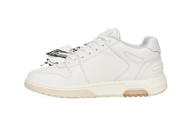 """Off-White™ """"Out of Office"""" Sneaker """"FOR WALKING"""" OMIA189R21LEA002 0101 Slam Jam Virgil Abloh White Leather Luxury Premium Shoe Trainer Footwear Release Information Drop Date First Closer look"""