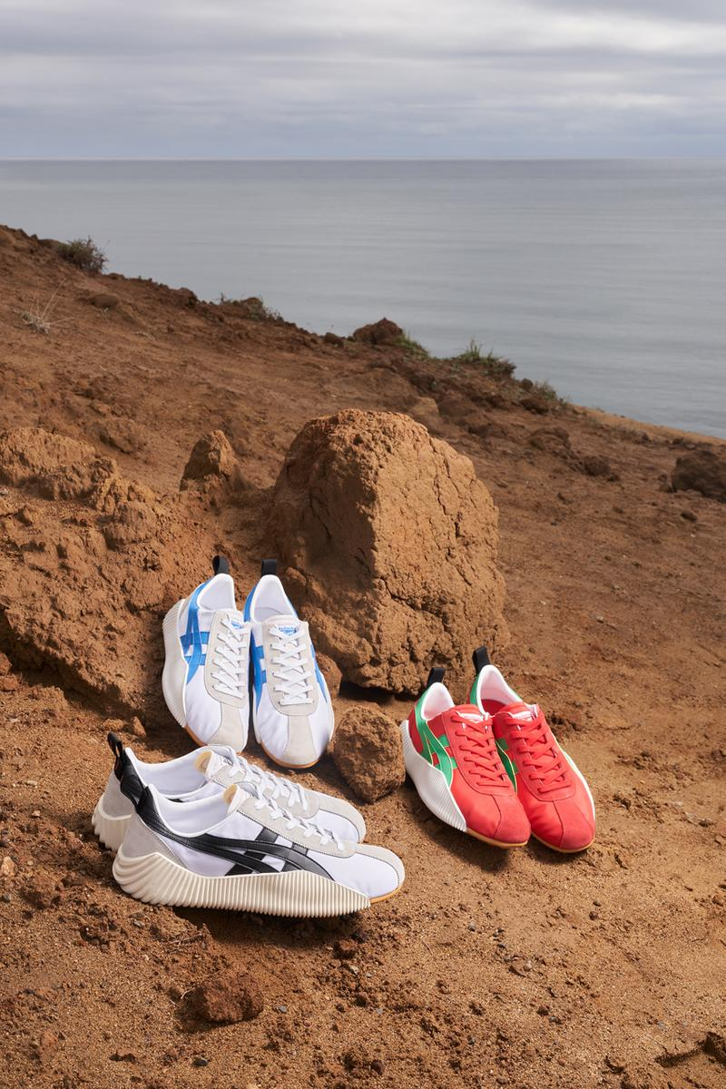 Onitsuka Tiger Spring/Summer 2021 Collection lookbook ss21 sneakers andrea pompilio sandals japan campaign