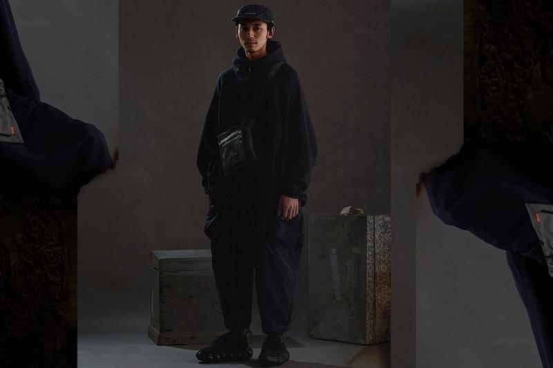 "oqLiq x GOOPiMADE ""IRREPLACEABLE RUST"" Collab Info Japanese Tea Ceremony outerwear red black navy"