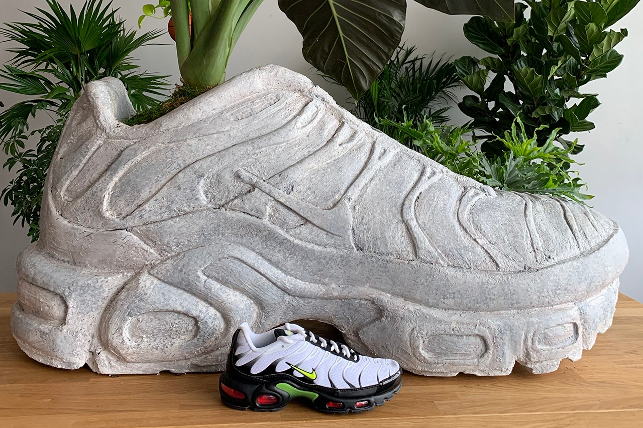 Sole Mates Olivia Rose Original Rose Bodega Rose Nike Air Max Plus AM+ Air Force 1 AF1 AF2 New York City Planters Basketball Plant Pot Cast Molds Homeware Design HYPEBEAST Cacti Succulent Growing Interview Hype Footwear Shoe History Talks