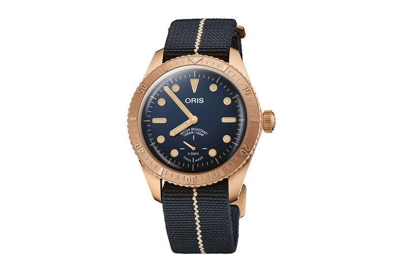 Oris' third bronze dive watch produced in tribute to US Navy legend Carl Brashear debuts new version of in-house automatic movement
