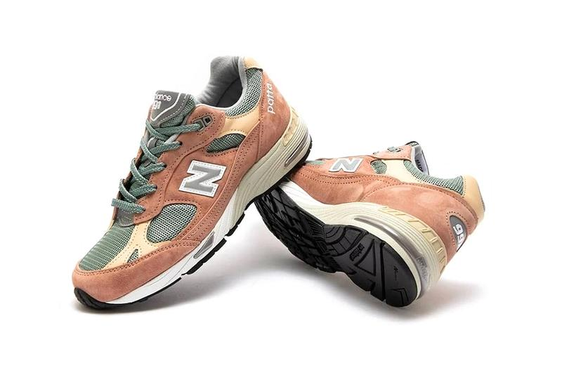 patta new balance 991 collaboration release info price store list photos buying guide tan green