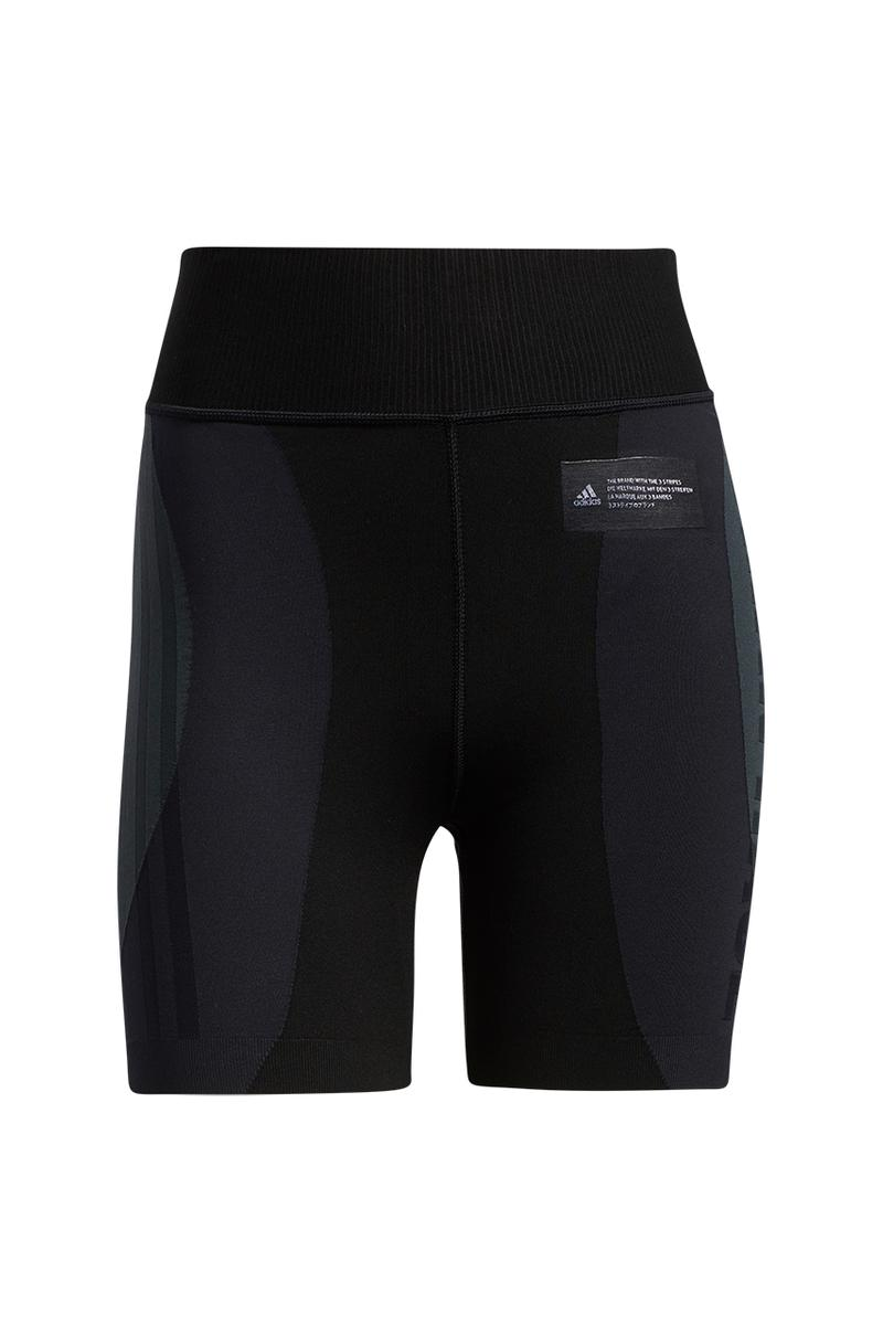 pharrell adidas pw primknit fine apparel collection release date info store list buying guide bra long sleeve tee base tight shorts black chalk white human race
