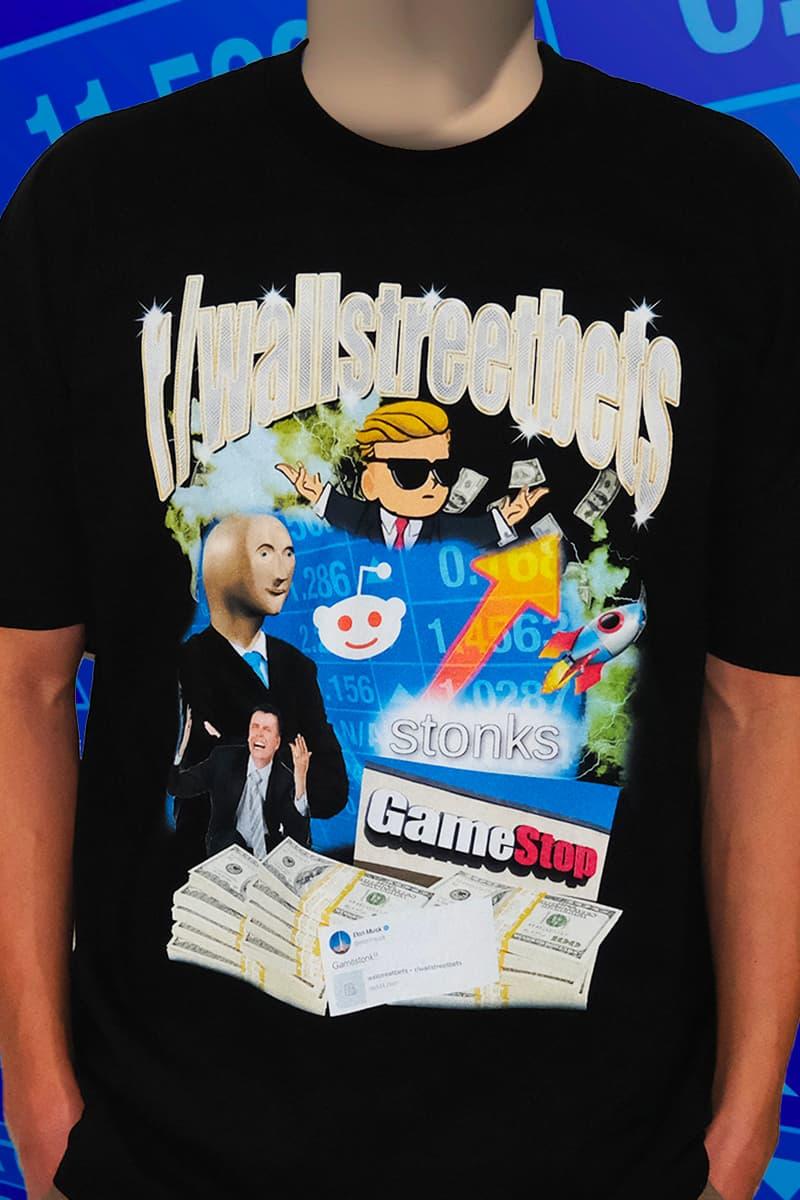 PizzaSlime r/wallstreetbets T-shirt Release Info Gamestop Stonks AMC Chamath Melvin Shorts