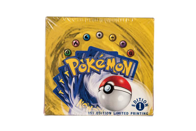 pokémon first edition base set booster box sold $408,000 heritage auctions world record