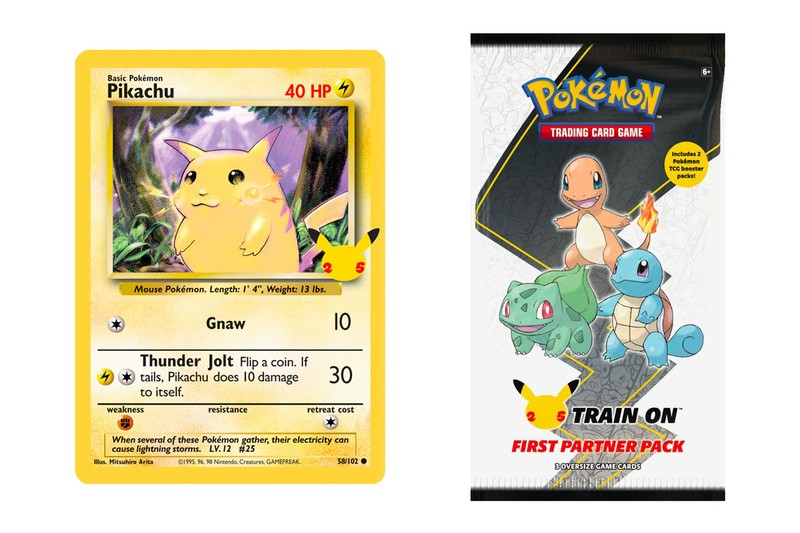 "Pokémon TCG Reveals ""First Partner"" 25th Anniversary Promo Packs"