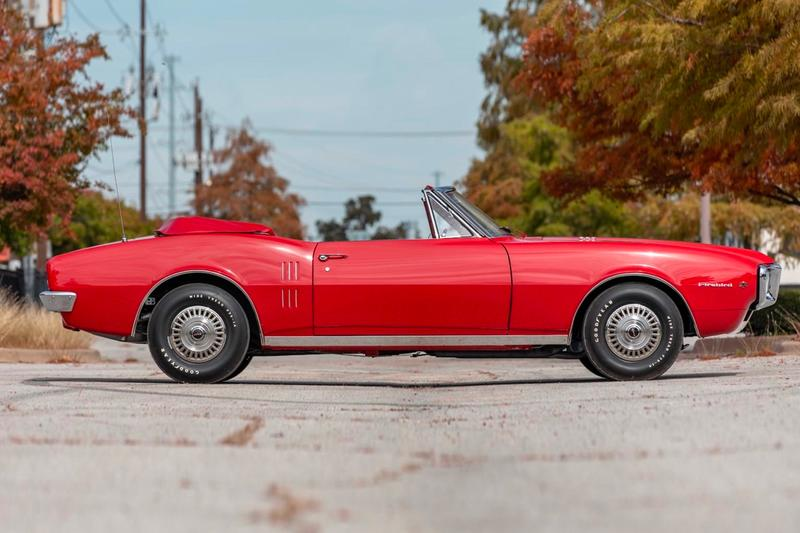First Ever Pontiac Firebird 1967 Convertible Mecum Auctions Information Restored Richard Rawlings Fast N' Loud