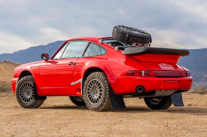 bring a trailer this 1985 Porsche 911 Safari-Style Carrera Is up for Auction off-roading classic cars porsche  LED Mud Air-cooled