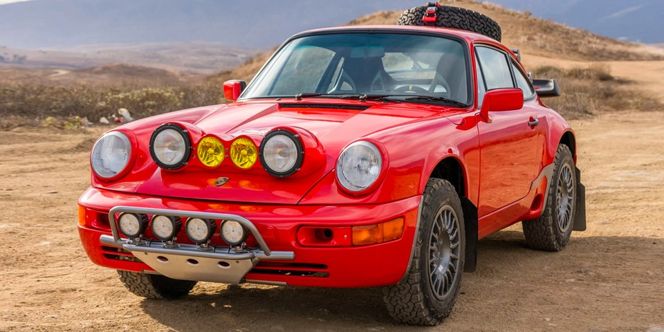 This 1985 Porsche 911 Safari-Style Carrera Is up for Auction