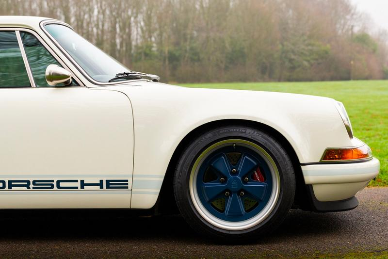 1990 Porsche 911 Singer collecting cars auction 964 carrera 2 4 liter flat six united kingdom england uk 550000 gbp horse power 1100 miles vehicles info