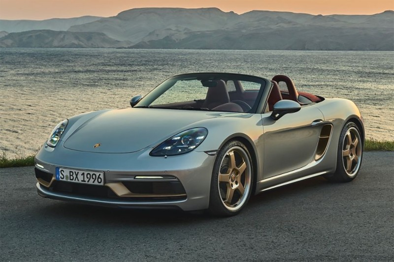 "Porsche Unveils Limited Edition ""Boxster 25 Years"" Anniversary Model"