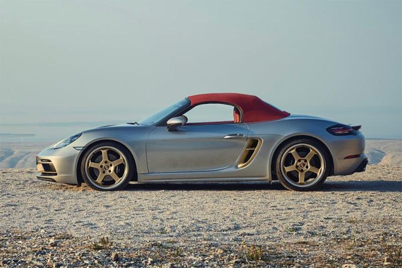 porsche boxter 25 years model release info limited edition roadster family anniversary