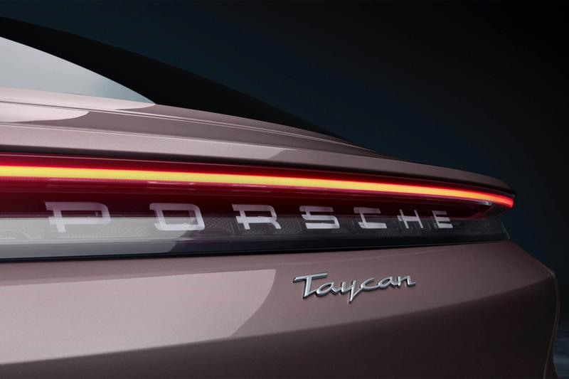 porsche taycan entry level base model 402 horsepower electric vehicle car rear wheel drive ev