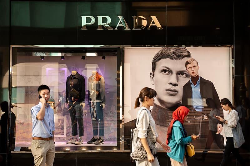 prada luxury fashion house designer finance financial report 2020 second half china retail sales growth