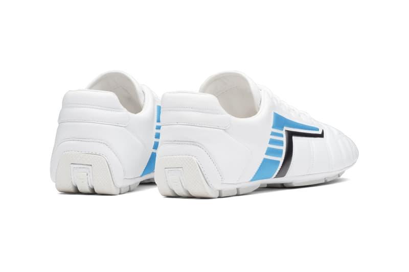 Prada Rev Leather Sneakers Low Top High Bootie Y2K Early 2000s Casuals Football Indoor Shoes Trainers UK Slazenger Balenciaga Zen Footwear Closer First Look Raf Simons Miuccia