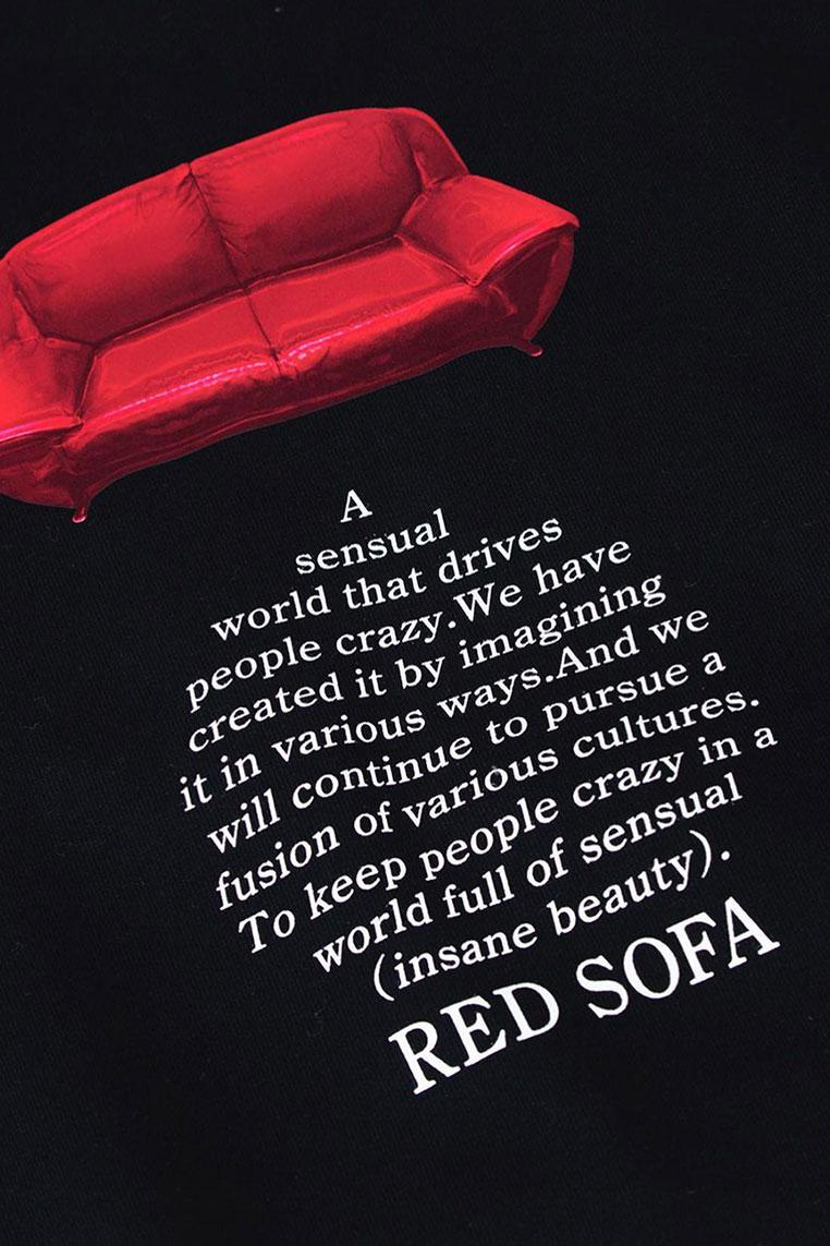 PRESTIGEAPPAREL RED SOFA STICK IT TO THE MAN Hoodie Release JAV Adult entertainment Japan xxx clothing fashion