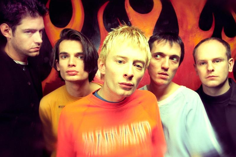Radiohead Early on a friday Demos Hits Auction three unreleased songs gripe ep omega Thom Yorke, Ed O'Brien, Phil Selway, Colin Greenwood