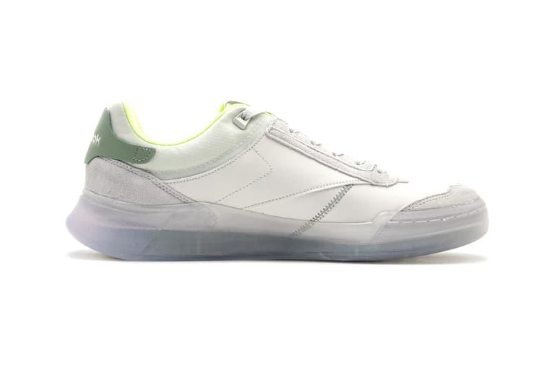 Reebok Club C Legacy GZ5276 GZ5275 White Green Orange Blue Sneaker Release Information Drop Date Closer First Look Updated Classic Footwear Shoe Trainer OG