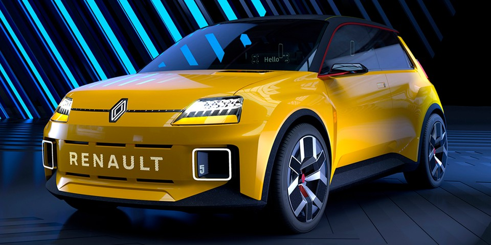 Legendary Renault 5 Hot Hatch Is Back in Electric Prototype Form