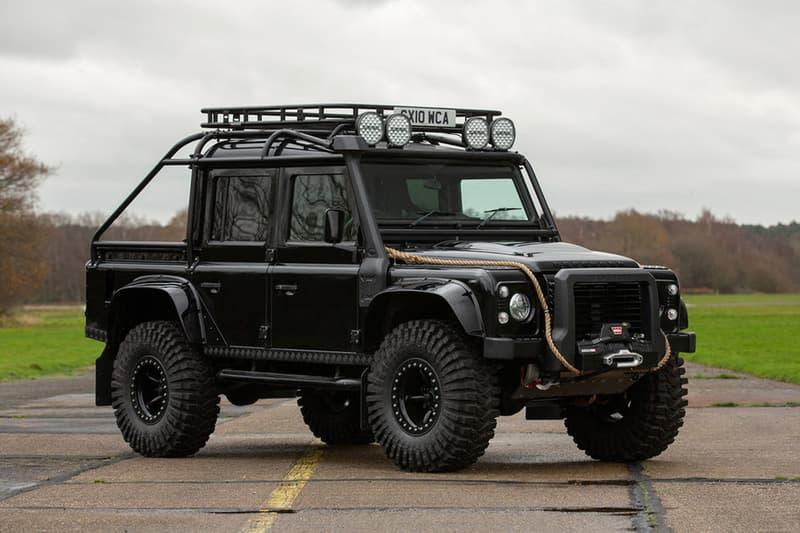 rm sothebys paris february drew bowler land rover defender auction jaguar custom build james bond spectre