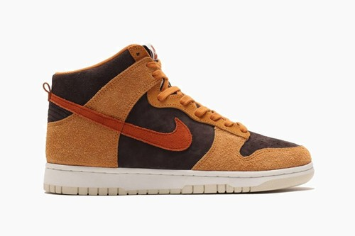 "Nike Dunk High ""Dark Russet"""
