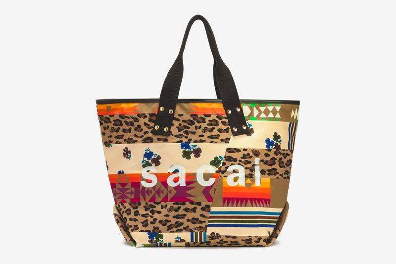 sacai SS21 Totes, Hank Willis Thomas Collaboration spring summer 2021 bags accessories