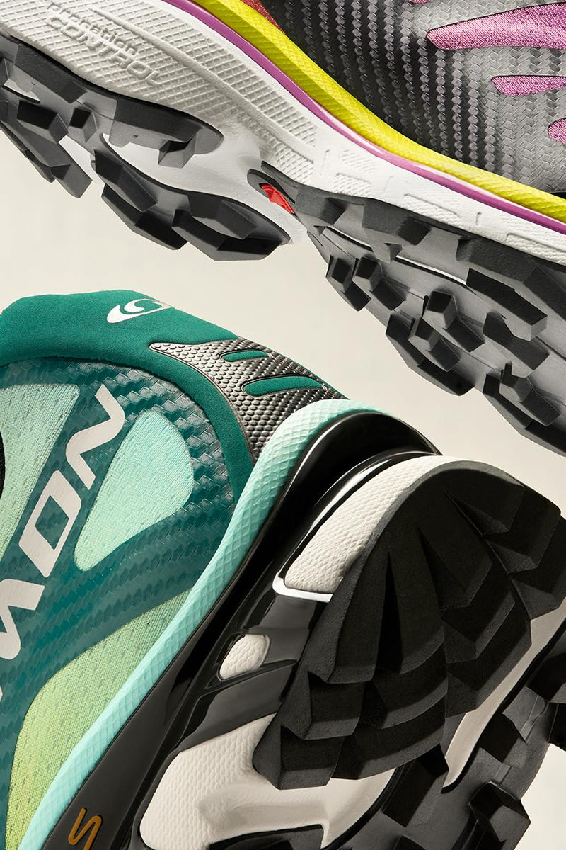 Salomon Advanced Spring/Summer 2021 Collection Lookbook Sneaker Release Information Drop Date Closer First Look Maxime Guyon Photography Mountain Sport Archive S/LAB Cross Black LTO