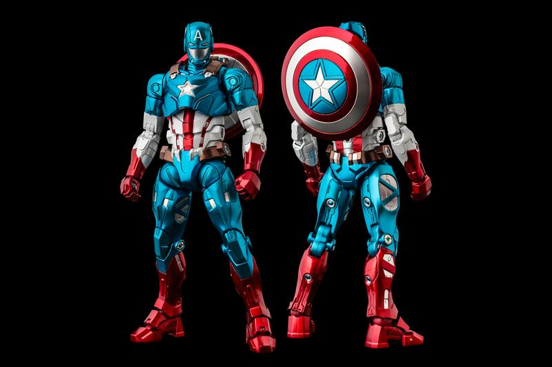 Sentinel Fighting Armor marvel captain America figure  Collectible Figures tony stark Iron Man comics comic books avengers super heroes Japan