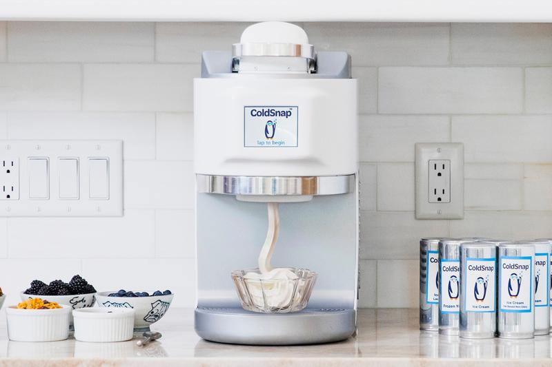 Sigma Phase ColdSnap Pod Ice Cream Maker CES 2021 Reveal Info